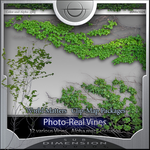 photo real vines