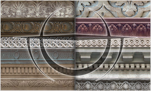architectural Border textures