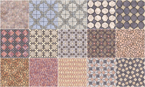 tile pattern material