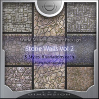 stonewalls textures Ideal for Game Design